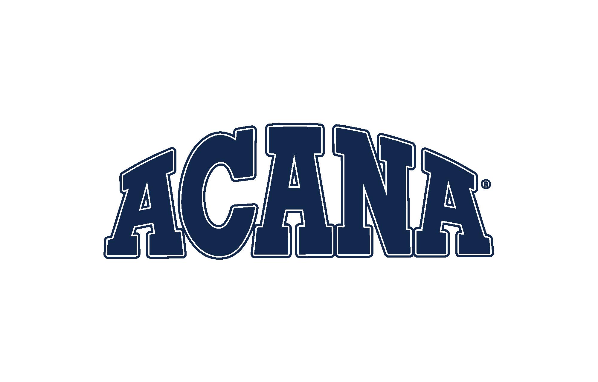Blue Acana logo