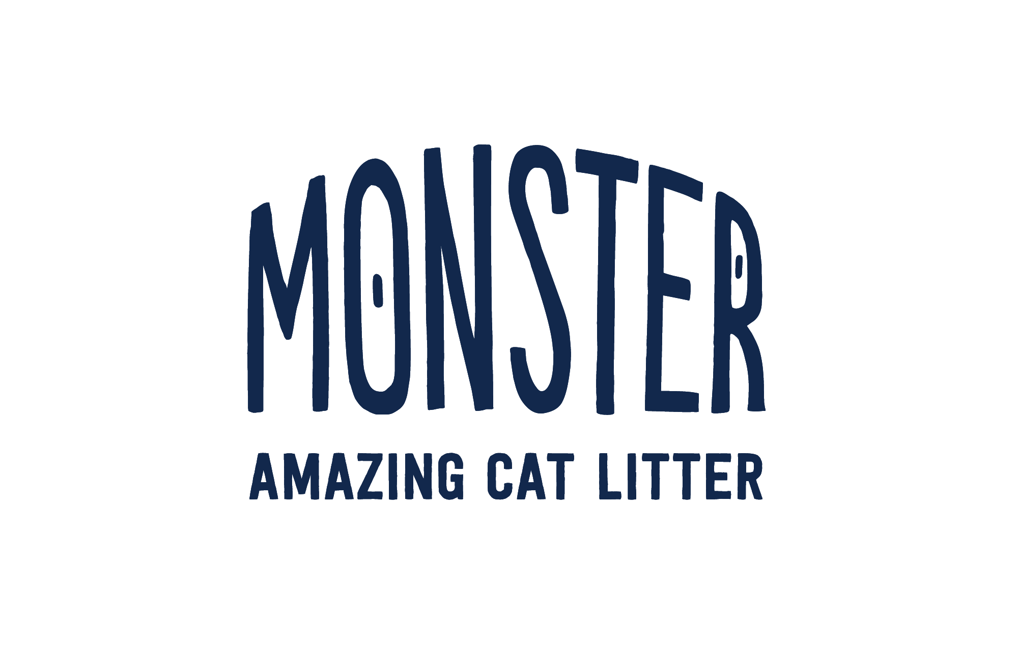 Blue Monster Amazing Cat Litter logo