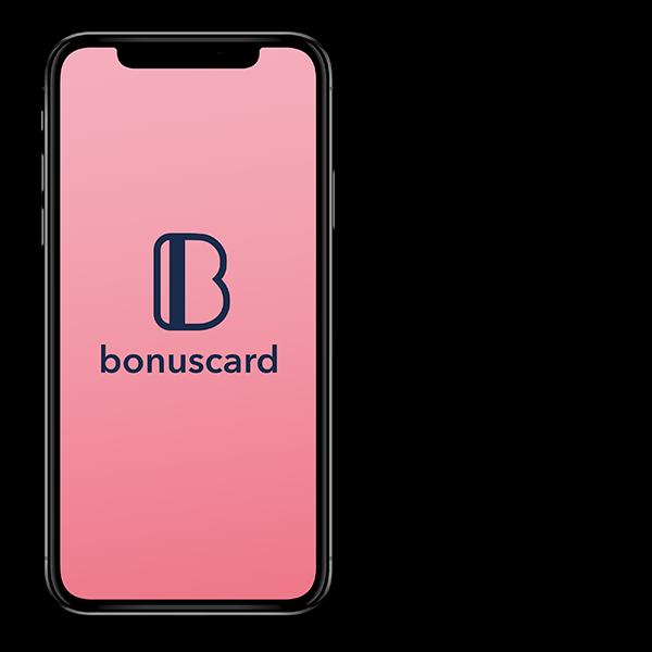 Bonuscard mock-up view